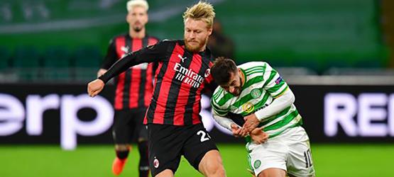 Селтик - Милан: 1-3, отчёт