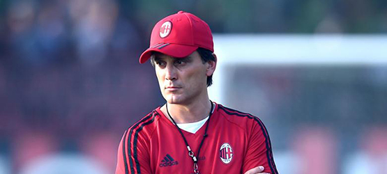"""Винченцо Монтелла:""""Кутроне был снят с трансферного рынка до матча с Кротоне.Кажется мы единственные в Европе кто поменял так много игроков."""""""
