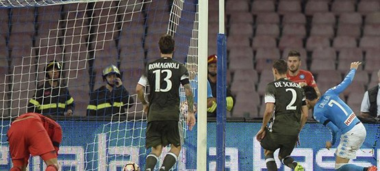 Наполи - Милан: 4-2, отчет