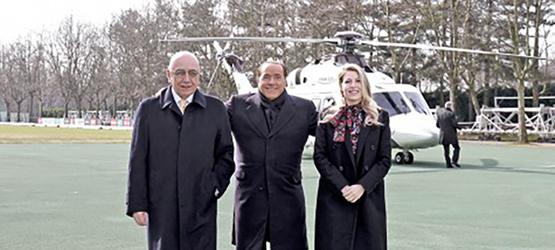 """Сильвио Берлускони: """"Продам Милан только на моих условиях. Если я останусь, то задержится и Брокки."""""""
