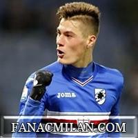 Милану интересен молодой нападающий Сампдории