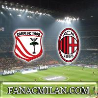 13 января матч против Карпи в Кубке Италии