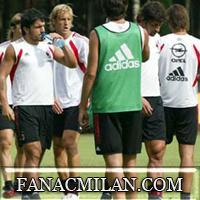 Сегодня тренироки Милана возобновятся