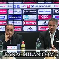 Берлускони: «Спасибо Михайловичу, но Милан должен сделать больше»