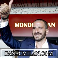 Бонуччи: «Надеюсь сделать в Милане то, что сделал Пирло после перехода в Ювентус»
