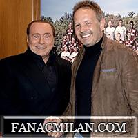 Рукопожатие Берлускони и Михайловича в Миланелло