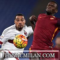 Рома - Милан: 1-1, отчёт