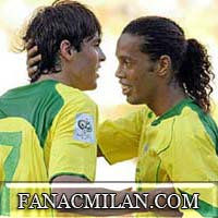 Диньо-капитан сборной Бразилии