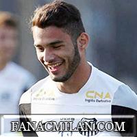 Милан нацелен на игрока Сантоса