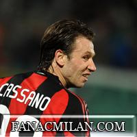Кассано забыл о Милане