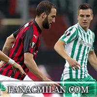 Милан - Бетис: 1-2, отчёт