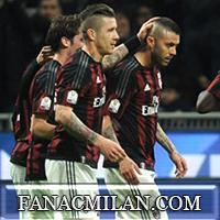 Милан - Алессандрия: 5-0, отчёт