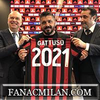 Официально: контракт Гаттузо продлен до 2021 года