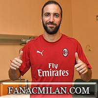 Официально: Игуаин и Кальдара - игроки Милана