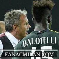 Балотелли может выйти в основном составе в матче против Аталанты