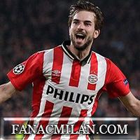 Милан заинтересован в полузащитнике ПСВ