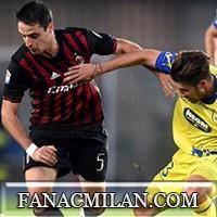 Кьево - Милан: 1-3, отчёт