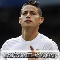 Милан в январе поборется за Джеймса Родригеса