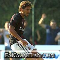 Игровая схема для Милана с флангами в атаке