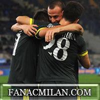 Лацио - Милан: 1-3, отчёт