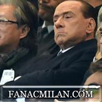 Берлускони и Галлиани с интервью после дерби