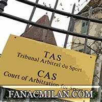 Официально: спортивный арбитражный суд отменил решение УЕФА об исключении Милана из еврокубков