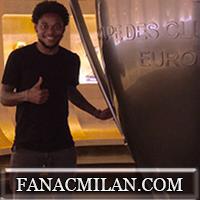 Луис Адриано прибудет в Миланело не раньше, чем через 10 дней. Бертолачи выбрал 91-й номер на футболке