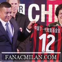 Curva Sud поприветствовала президента Милана на Сан Сиро:
