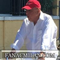 Галлиани был зол во время визита в Миланелло