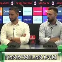 Пресс-конференция Фассоне, Джанлуиджи и Антонио Доннаруммы