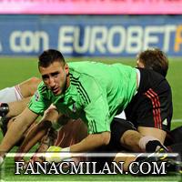 Официально: Антонио Доннарумма подписал контракт с Миланом до 2021 года