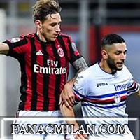 Милан - Сампдория: 3-2, отчёт