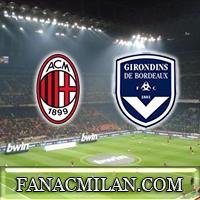 Бордо - Милан: 1-2, отчёт