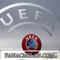 Болельщики россонери ответило УЕФА хэштегом #respect4acmilan.