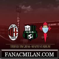 Заявка Милана на Trofeo Tim