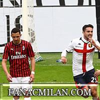 Милан - Дженоа: 1-2, отчёт