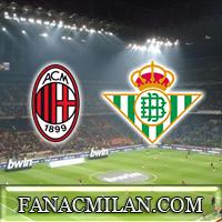 Бетис - Милан: стартовые составы команд, схема 3-5-1-1, Сусо и Кутроне на острие атаки