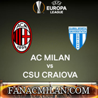 Милан-Крайова: 2-0, отчёт (видео, фото).