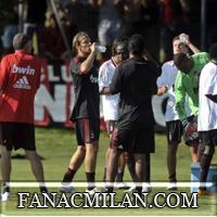 Миланелло, работа с отдельными игроками