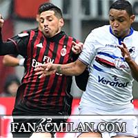 Милан - Сампдория: 0-1, отчёт