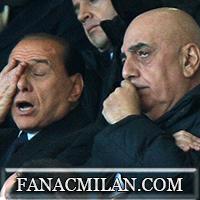 Галлиани и Берлускони в интервью перед матчем с Лацио