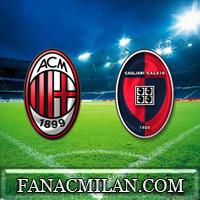 Милан - Кальяри: составы команд