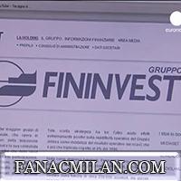 Официальное заявление Fininvest и Sino-Europe