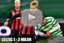 01 тур Селтик - Милан