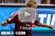 1 тур Милан - Лацио