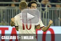 9 тур Кальяри - Милан